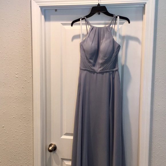 89f5a0c688 Azazie Dresses   Skirts - Azazie Melinda bridesmaid dress in dusty blue